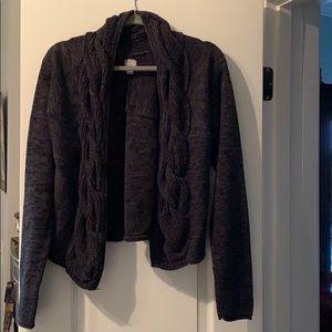 Large converse sweater. Gray